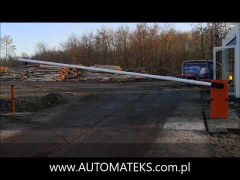 SZLABAN CAME G6000 Realizacja AUTOMATEKS COM PL