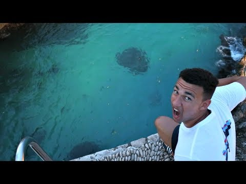 Thumbnail: CRAZY 100 FEET Cliff Jumping In Jamaica!!