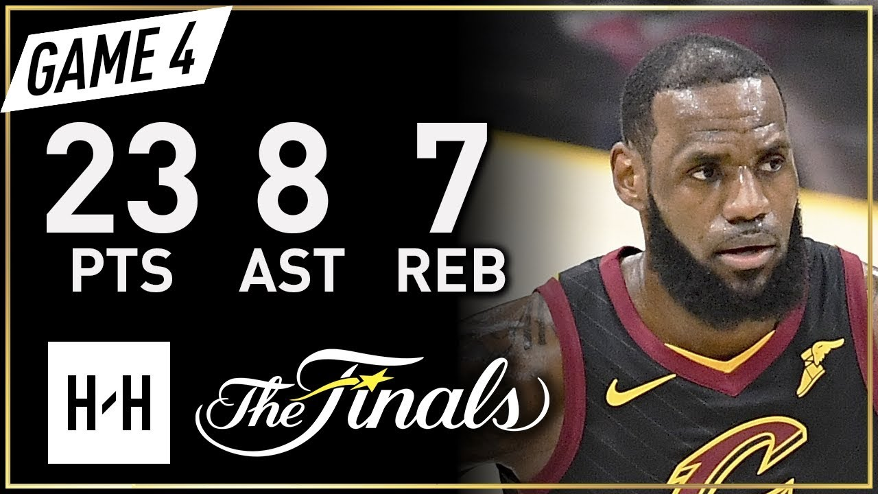 0c29b1c3d65 LeBron James Full Game 4 Highlights Warriors vs Cavaliers 2018 NBA Finals -  23 Pts