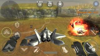 gunship battle f22 raptor