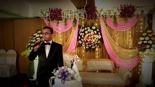 Anchor /Emcee /Master of ceremonies/Compere Pontes- Wedding of Karan and Swapna.