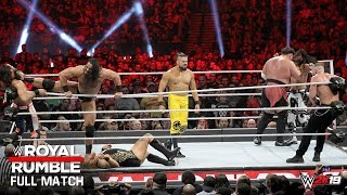 FULL MATCH - Royal Rumble Match: Royal Rumble 2019