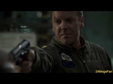 Jack kiddnaps President Logan 24 Season 5 Finale (Part 3)