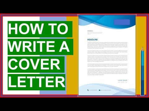 How To Write A Cover Letter Brilliant Cover Letter Examples Template Youtube