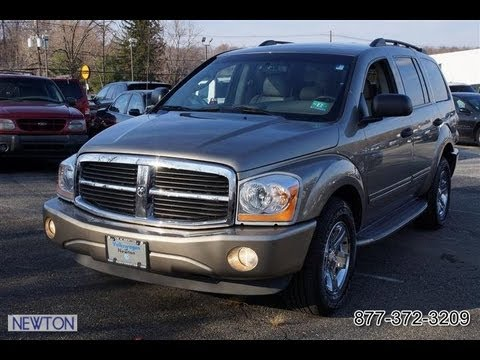 2005 Dodge Durango Limited 4WD Hemi V8 - YouTube