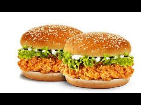 Zinger Burger Recipe Kfc Style How To Make Zinger Burger How