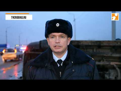 Подробности серьёзного ДТП с перевернувшимся внедорожником на Восточном мосту в Твери