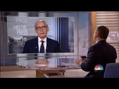 Full Tony Evers: 'The entire thing is a mess. It's a hot mess' | Meet The Press | NBC News