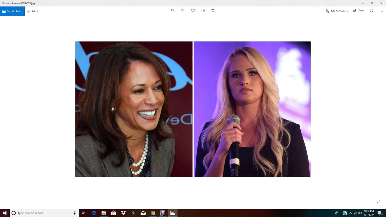 Fox's Tomi Lahren apologizes for tweet on Kamala Harris saying she slept her way to the top