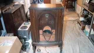 1930s Crosley Console Radio Part 1: First Look & Tube Repairs