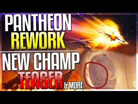 Pantheon Rework New Support Champ TEASER New AD Assassin Morde Rework & MORE  League of Legends