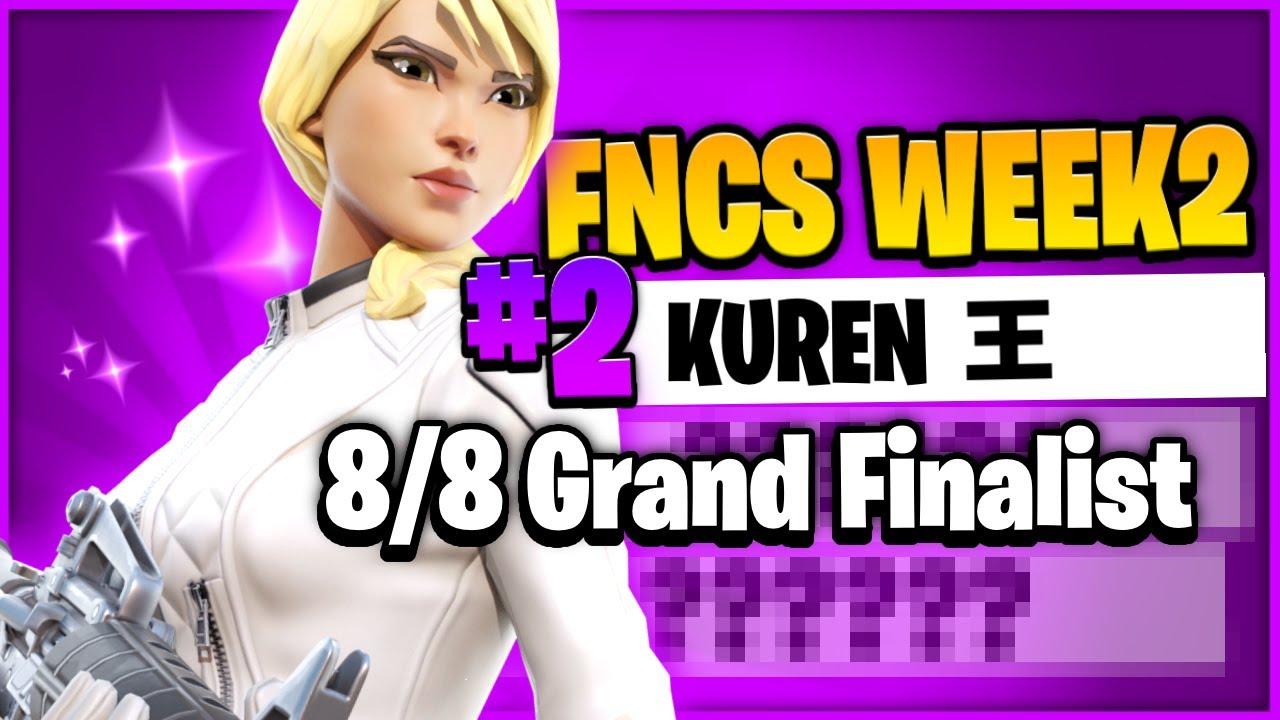 2nd in FNCS Finals | FNCS 8/8 Grand Finalist✅🔥