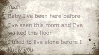 Bon Jovi - Hallelujah lyrics