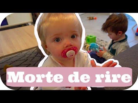 ELLE EST MORTE DE RIRE !!!! - VLOG MUM & BABY ALLO MAMAN