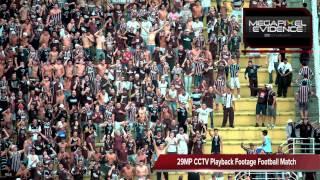 Avigilon 29MP HD CCTV Camera Football Match playback footage