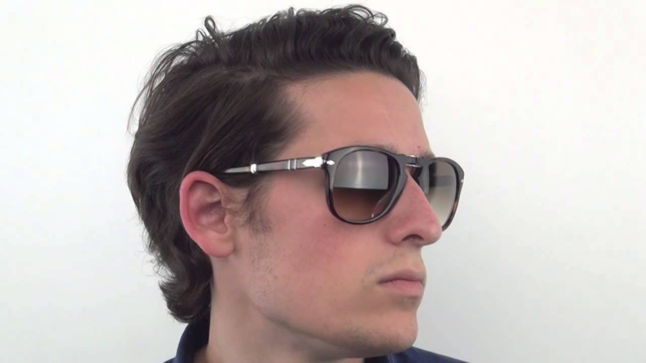 7458d8d8d2c Persol PO0714 Folding 24 51 Sunglasses - VisionDirect Reviews - YouTube