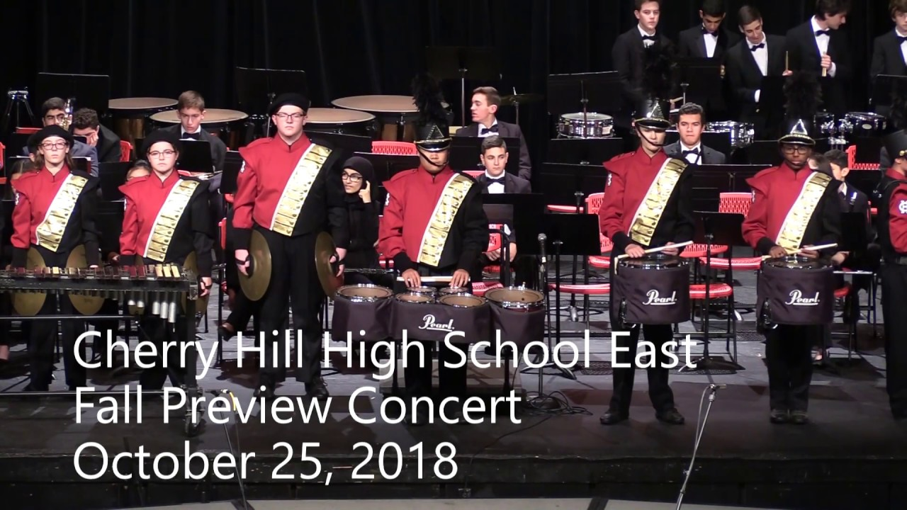Cherry Hill High School East Fall Preview Concert 2018