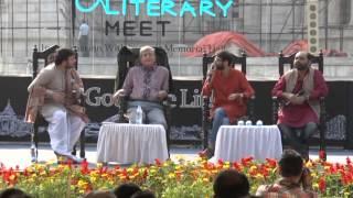 Anindya Chandril at Tata Steel Kolkata Literary Meet 2015 Part 2