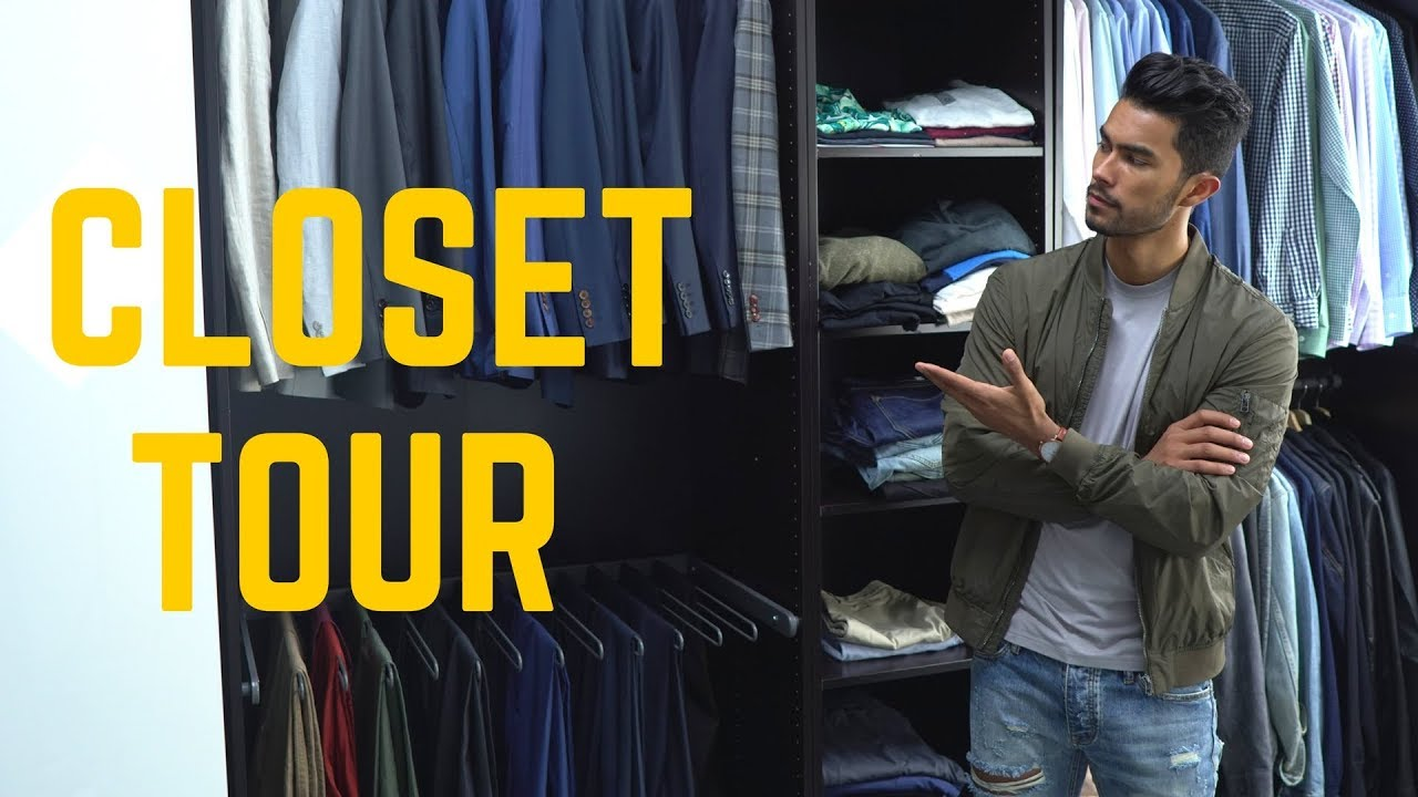 Tmf Closet Tour Building A Stylish Wardrobe Youtube
