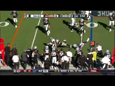 Indianapolis Colts Denver Broncos Highlights (2014)