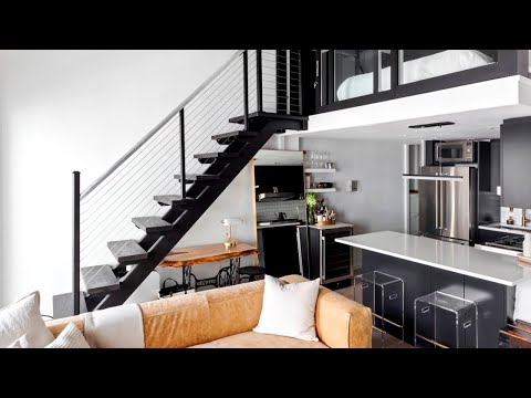 30+ Loft Apartment (Small Spaces) Interior Design Ideas