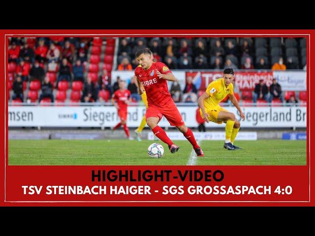 TSV Steinbach Haiger - SG Sonnenhof Großaspach 4:0 (Regionalliga Südwest I #TSVSGS )