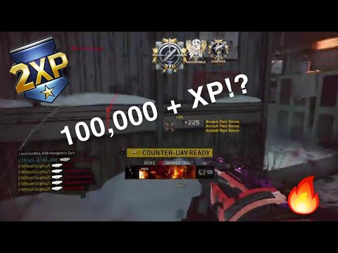 😱 HOW TO GET 100,000+ XP USING THE CORDITE AND AJAX!? BO4 HC KC! + INSANE FEEDS!!!🔥