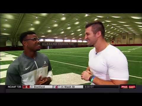 11/04/2017 SECN segment - Damien Harris and Jalen Hurts (HD)