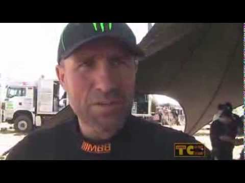 Rally Dakar 2014 - Stephané Peterhansel Stage 2