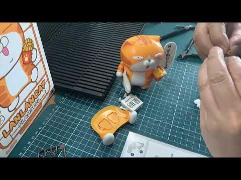 白爛貓組裝縮時攝影 Hanktown