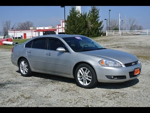 2008 chevrolet impala ltz for sale dealer dayton troy piqua sidney ohio 26964a youtube. Black Bedroom Furniture Sets. Home Design Ideas