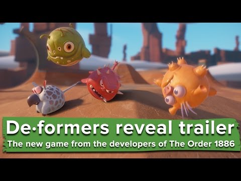 De·formers reveal trailer - the new game from Ready at Dawn