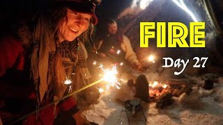 Freedom Eve & a Special Guest! | 28 DAY FIRE CHALLENGE | A Fire Everyday