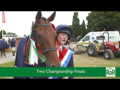 Retraining of Racehorses Championships - British Showjumping