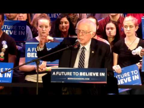 Bernie Sanders GOTV Rally at the Township in Columbia, South Carolina