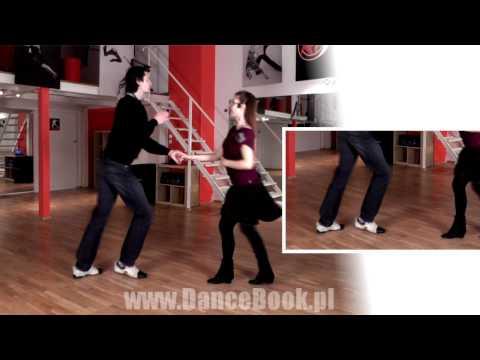 Rock'n'Roll - Krok Podstawowy - Lekcja 1 - Poziom 1 - DanceBook.pl