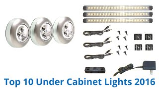 10 Best Under Cabinet Lights 2016