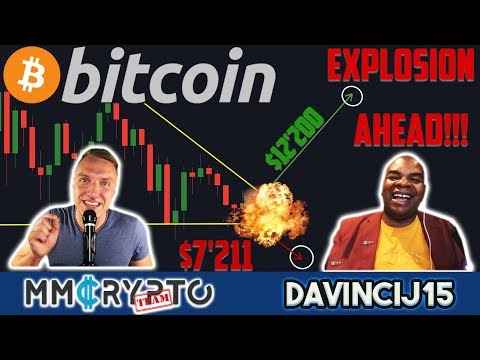 DavinciJ15 - Bitcoin Explosion Coiling Up RIGHT NOW!