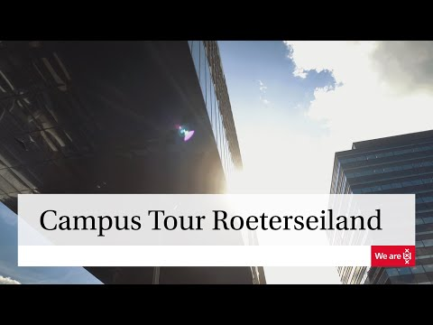 University of Amsterdam | Campus Tour Roeterseiland