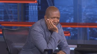 Kenny Smith being uncomfortable while he gets roasted