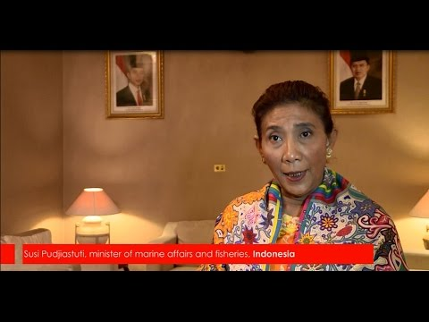 Interview with Minister Susi Pudjiastuti