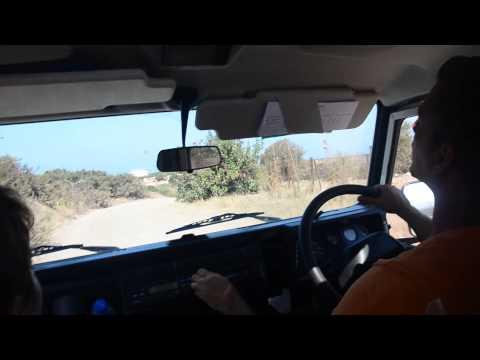 Jeep Safari Akamas (Cyprus) with papa Evis =)