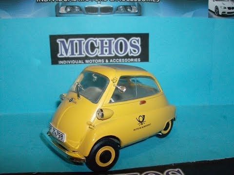 1/18 BMW ISETTA 250 '1955' Deutsche Post Bundespost / Revell Model Car [Review]
