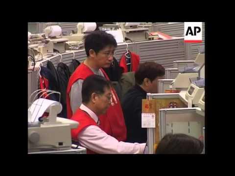 WRAP Asian stocks markets continue to fall, Japan, HKong, SKorea
