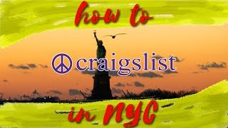 How to Craigslist in New York City