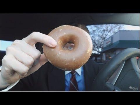 Krispy Kreme Limited Edition Gingerbread Doughnut Review