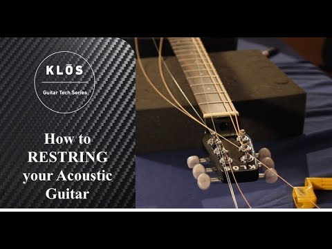 How to Change your Guitar Strings || Guitar Tech Series