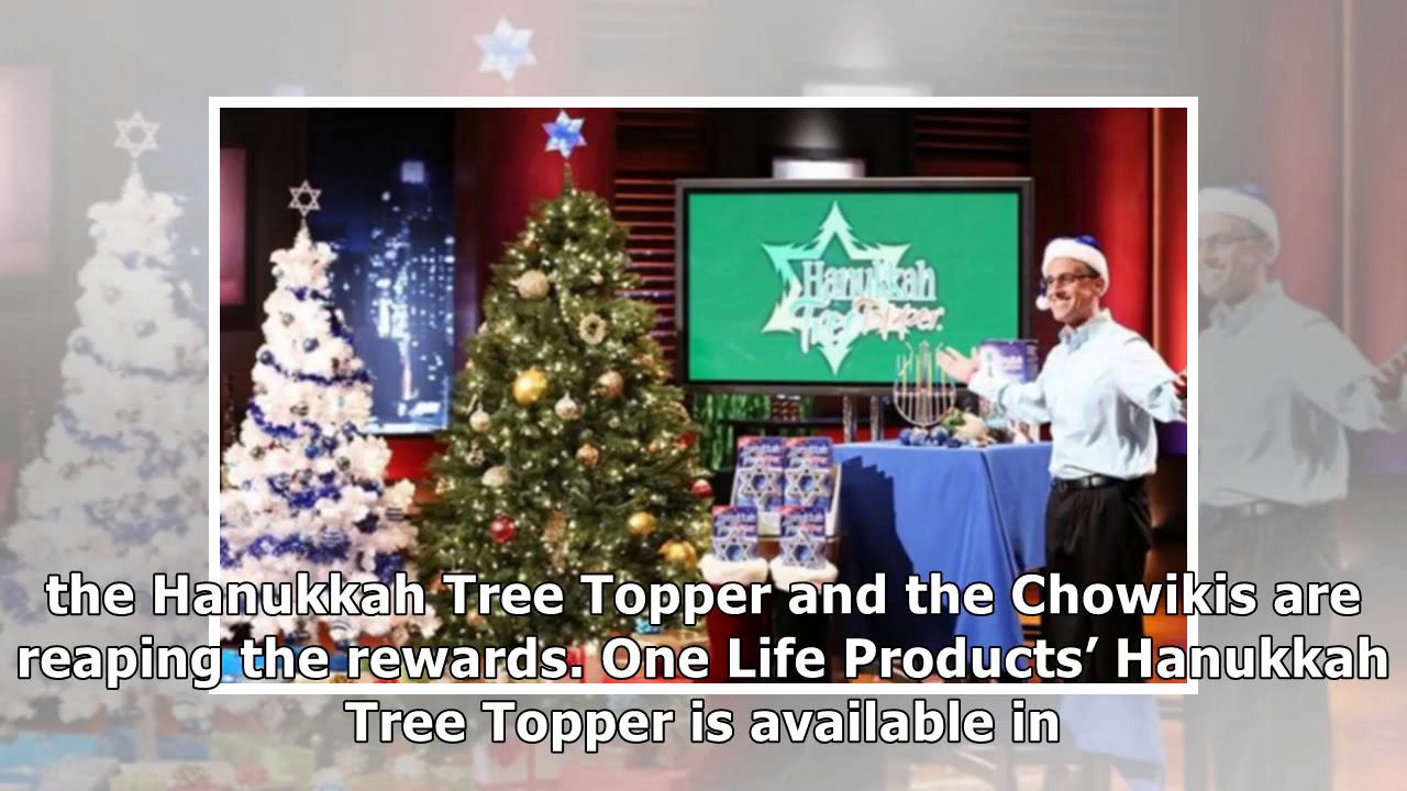 Hanukkah Tree Topper What Happened After 50k Shark Tank Deal Youtube