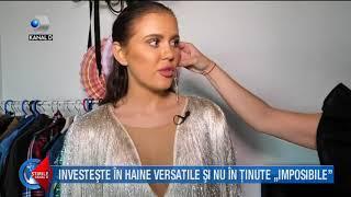 Stirile Kanal D (05.08.2018) - Emiliana si-a transformat casa in dressing!
