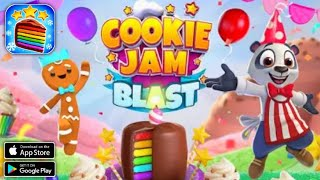 Cookie Jam Blast™ New Match 3 Game || Swap Candy || Android Gameplay screenshot 1